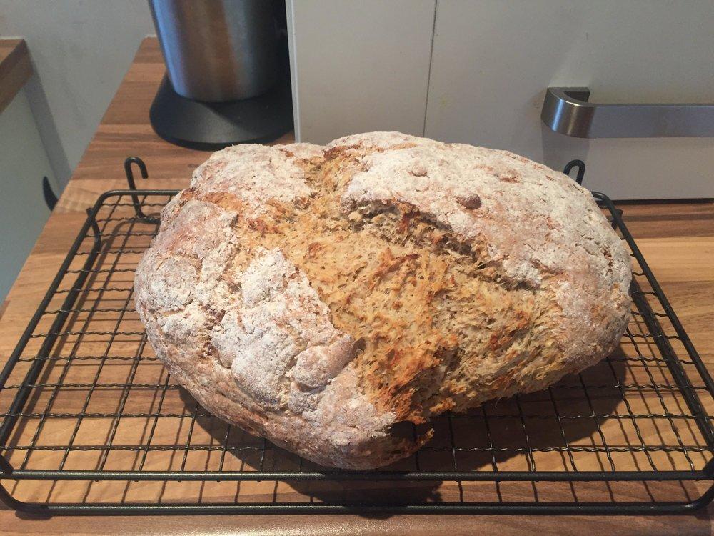 Soda bread (a Tom Kerridge recipe that is available online)